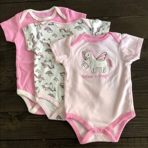 3 pack of onesies. 12 months